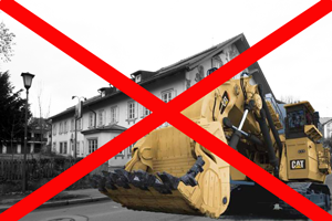 Keine Bagger auf der Hauptstraße 2017!
