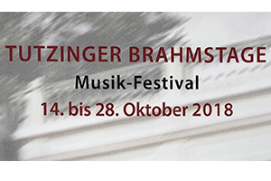 Tutzinger Brahmstage 2018